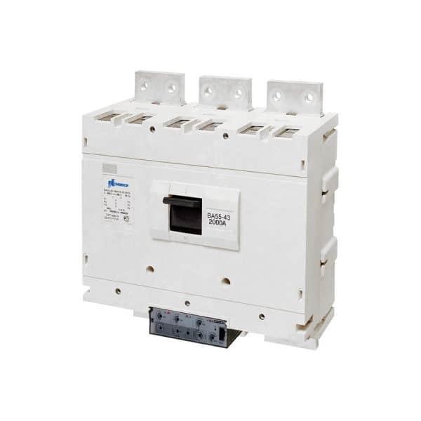 Новые автоматические выключатели в литом корпусе серии ВА50-43